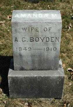 Amanda <i>Matson</i> Boyden