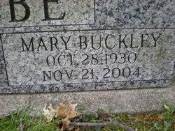 Mary Jane <i>Buckley</i> Beebe