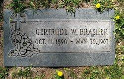 Gertrude <i>Walker</i> Brasher