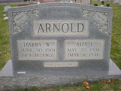 Ada F. <i>Weaver</i> Arnold
