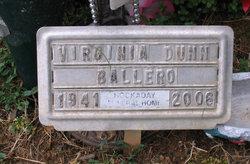 Virginia <i>Dunn</i> Ballero