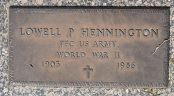 Lowell Purvis Hennington