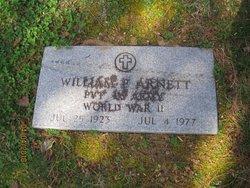 William P Bill Arnett