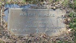 PFC Robert H Alvis