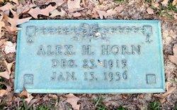 Alexander H. Alex Horn