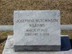 Josephine <i>Hutchinson</i> Williams
