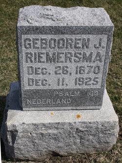 Geboodren J Riemersma
