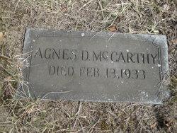 Agnes D. McCarthy