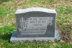 Pearl Milstead <i>McGee</i> Smith