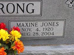 Maxine Martha <i>Jones</i> Armstrong