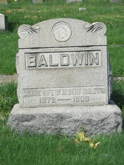 Minnie Porter <i>Jones</i> Baldwin