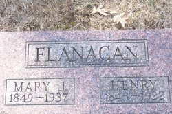 Mary Jane <i>Henderson</i> Flanagan