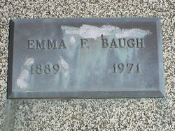 Emma Frances <i>Newcomer</i> Baugh