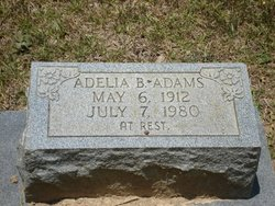 Adela B Delia <i>James</i> Adams