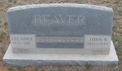 Nora Cynthia Lee <i>Nix</i> Beaver