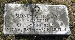 Corp Sidney G Holley
