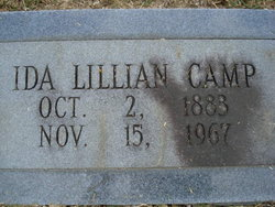 Ida Lillian <i>Wilson</i> Camp