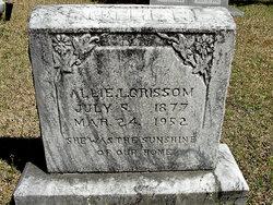 Allie Louise <i>Taylor</i> Grissom
