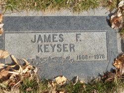 James F Keyser