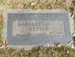 Margaret Aubin <i>Dunn</i> Keyser