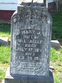 Mary Jane <i>Lankford</i> Aiken