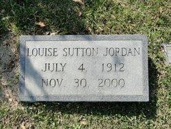 Minnie Louise <i>Sutton</i> Jordan