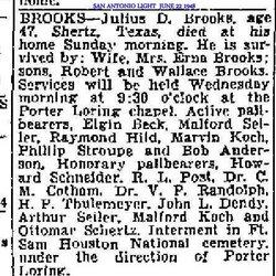 Julius D Brooks