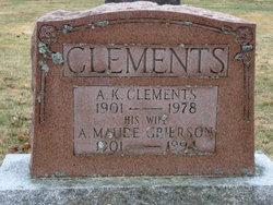 Allison Maude <i>Grierson</i> Clements