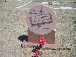 Lola Mae <i>Denton</i> Brown