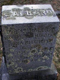 Anna <i>Hitchcock</i> Ballard