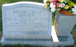 William Thomas Billy Brown, Jr