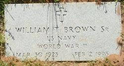 William Thomas Brown, Sr