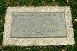 Luella Blanche Ella <i>Brooks</i> Morton