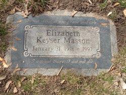 Elizabeth <i>Keyser</i> Masson