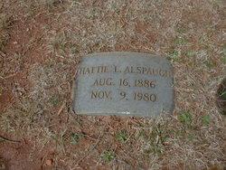 Hattie Lee <i>Lowrance</i> Alspaugh