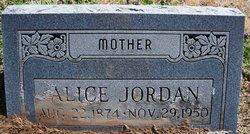 Alice <i>Morris</i> Jordan