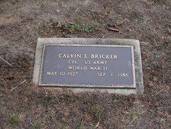 Corp Calvin E. Bricker