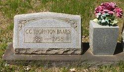 C.C <i>Thornton</i> Baars
