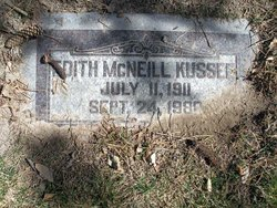 Edith <i>McNeil</i> Kussee