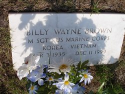 Sgt Billy Wayne Brown