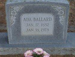 Ada N. <i>Brown</i> Ballard