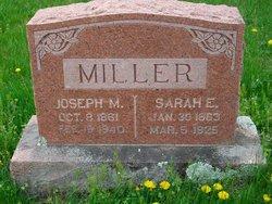 Sarah E <i>Robins</i> Miller