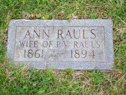 Ann Rauls