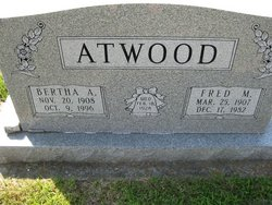 Bertha Alleen <i>Huffman</i> Atwood