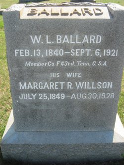 Margaret R. <i>Willson</i> Ballard