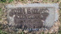 Julia <i>Ballard</i> Cleveland