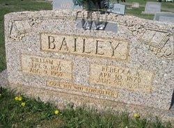 Rececca A. <i>Kinsey</i> Bailey