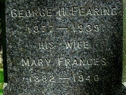 Mary Frances <i>Litchfield</i> Fearing