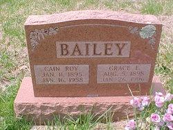 Elcanna Roy Cain Bailey