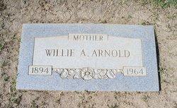 Willie Annie <i>Hill</i> Arnold